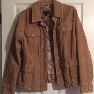 Sonoma corduroy tan jacket